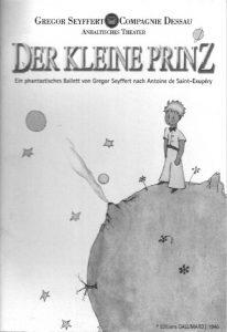 Der Kleine Prinz Programmheft